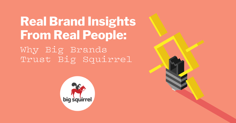 Real Brand Insights From Real People: Why Big Brands Trust Big Squirrel